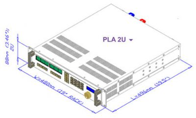 Электронная нагрузка Amrel PLA800-400-50