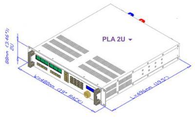 Электронная нагрузка Amrel PLA1.5К-400-100